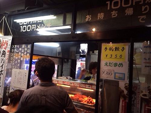 ボリュームと香りでやられる、上野アメ横!肉の大山でランチ食べてきたよー!!