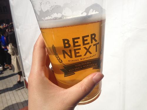 みなとみらい、主にアンテナアメリカでビールを飲んできたよ!