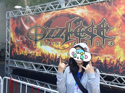 OZZFEST JAPAN 2013、2日目に行ってきたよおおお!!!