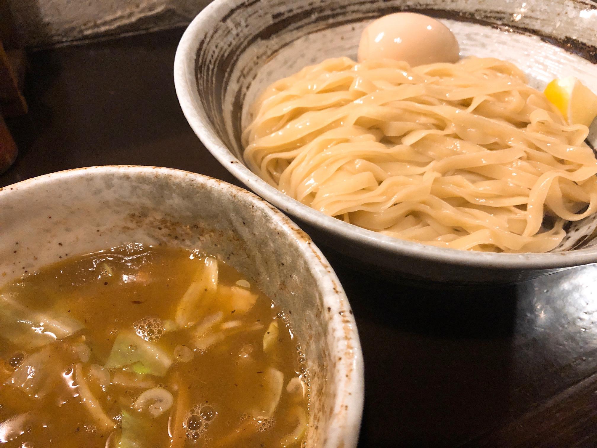 味玉しおつけ麺