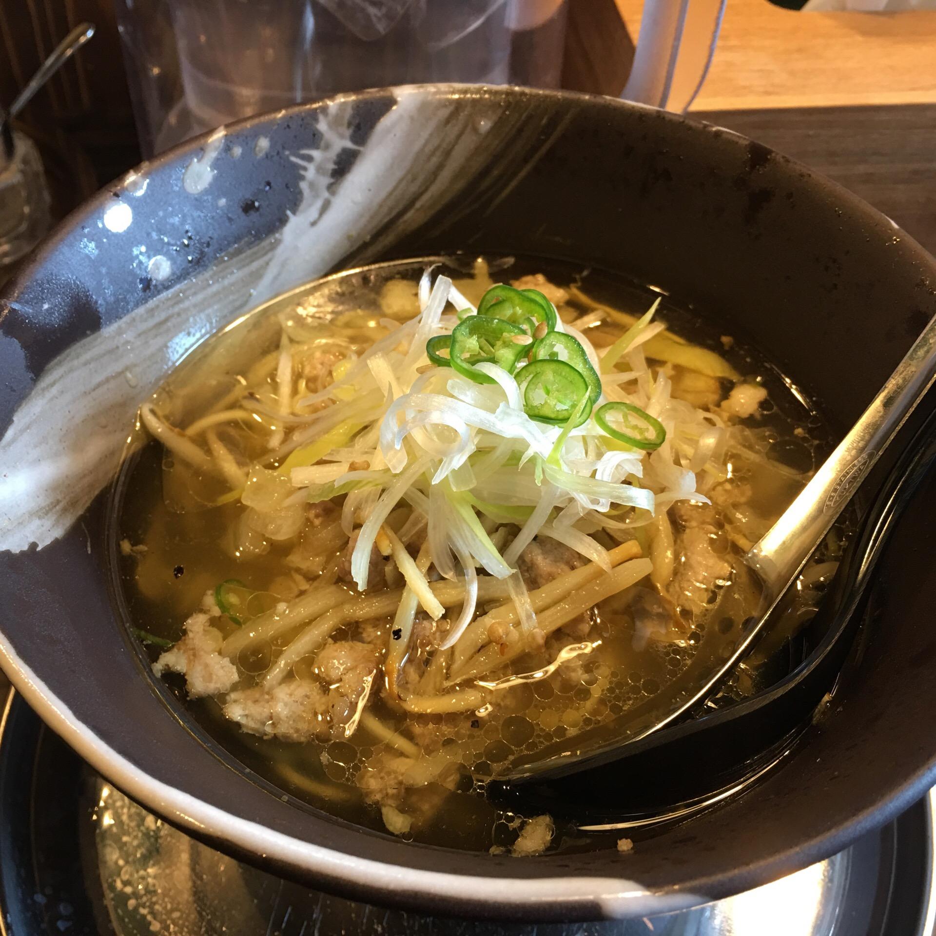 2017年1月のラーメンは高田馬場「青唐爽麺 ハルク」にしたよ!!