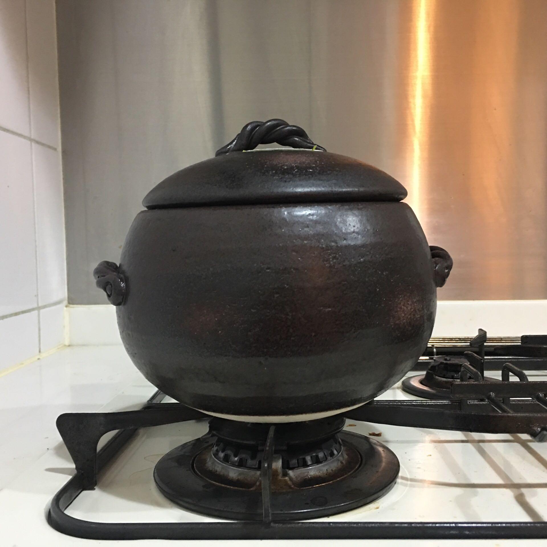 炊飯用土鍋を衝動買いしたら、めちゃ簡単に炊けたしお米はおいしいよ!!!!