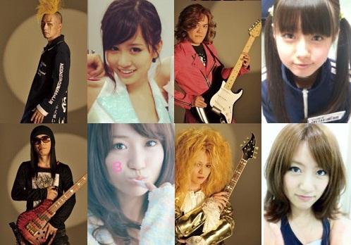 筋肉少女帯・AKB48、総選挙比較画像だよ!